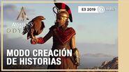 Assassin's Creed Odyssey - Modo creación de historias E3 2019