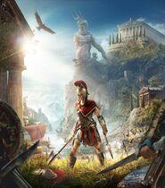 Kassandra Cover art - Assassin's Creed Odyssey