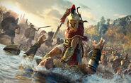 Kassandra artwork - Assassin's Creed Odyssey