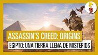 Assassin's Creed Origins Egipto una tierra llena de misterios (Tráiler del E3 2017)