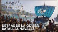 Detrás de la Odisea - Episodio 3 Batallas Navales