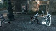 Dante Moro luchando