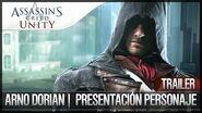 Assassin's Creed Unity Tráiler Presentación de ARNO DORIAN Español Personaje principal E3