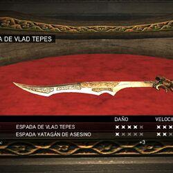 Espada de Vlad Tepes