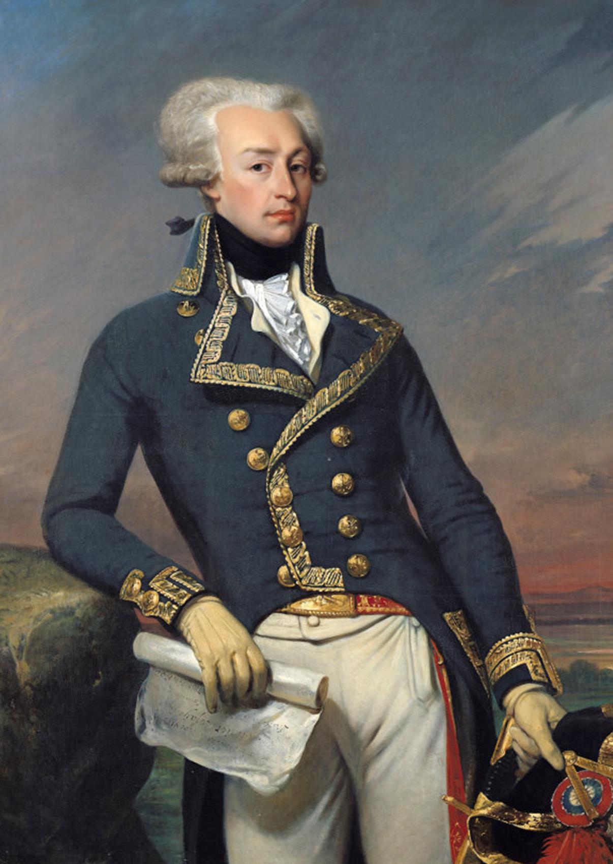 Gilbert du Motier, Marqués de La Fayette
