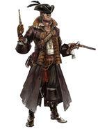 Navegador cazador de tesoros concepto