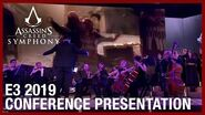 Assassin's Creed Symphony E3 2019 Conference Presentation Ubisoft NA