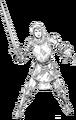 ACH Juana de Arco renderizado