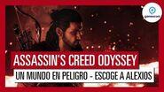 """Assassin's Creed Odyssey Gameplay Tráiler """"Un Mundo en Peligro"""" - Gamescom 2018 - Alexios"""