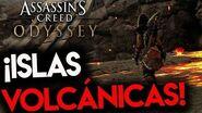 ¡GAMEPLAY EN LA ISLAS VOLCÁNICAS DE ASSASSIN'S CREED ODYSSEY! - RAFITI