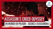 """Assassin's Creed Odyssey Gameplay Tráiler """"Un Mundo en Peligro"""" - Gamescom 2018 - Kassandra"""