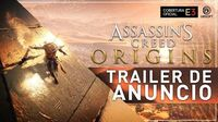 Assassin's Creed Origins - E3 2017 Trailer Oficial Premiere Mundial
