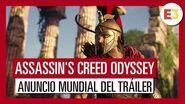 Assassin's Creed Odyssey E3 2018 Tráiler de Anuncio Mundial del Tráiler Gameplay