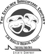 Logo of The Excaliber Shakespeare Company Los Angeles Archival Project.