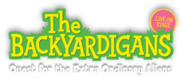 The Backyardigans Live on Stage! On Tour Quest for the Extra Ordinary Aliens Logo Shadow