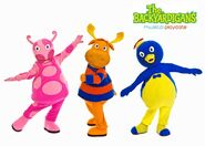 The Backyardigans Musical Playdate Characters