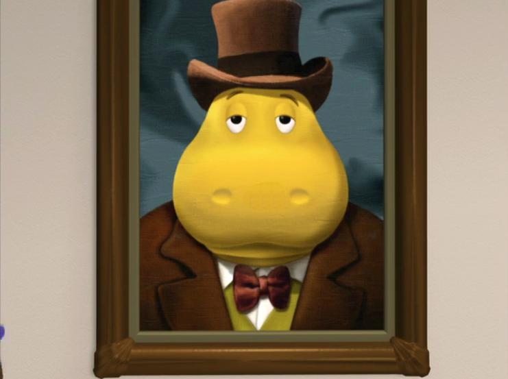 Male Hippo