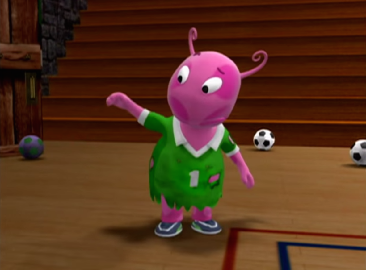 Soccer Monster Uniqua