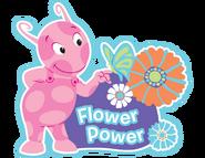 The Backyardigans Uniqua Butterfly Flower Power