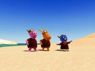 The Backyardigans Viking Voyage 19 - Uniqua Pablo Tyrone