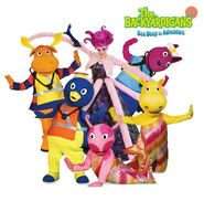 The Backyardigans Sea Deep in Adventure Characters