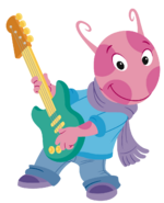 The Backyardigans Let's Play Music! Guitarist Uniqua 2