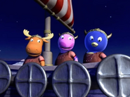 The Backyardigans Viking Voyage 17 - Uniqua Pablo Tyrone