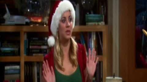 The Big Bang Theory español regalo de navidad de Sheldon