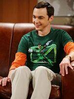 Sheldon en su sitio