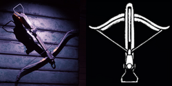 Crossbow on the Items table, and its icon