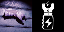 Stun gun on the Items table, and its icon