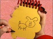 Puppy drawn