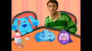 Blue and Steve with a collection