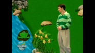 Steve with a frog