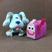 Blue's Clues Blue and Mailbox Eden Plush Toys
