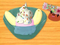 Blue's Clues Paprika with Ice Cream Toppings