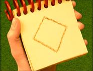 Diamond Shaped Piece of Paper