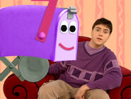 Blue's Clues Mailbox and Joe in Playdates