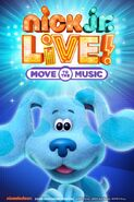 See Blue from Blue's Clues and You in Nick Jr Live!