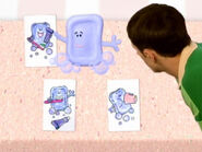 Blue's Clues Slippery Soap with Cards