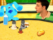 Blue's Clues Cinnamon and Mrs. Pepper