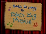 Thanks for coming to Blue's Big Musical Title Card