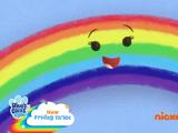 Blue's Rainy Day Rainbow