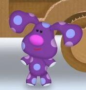 Purple Polka Dots Lookalike