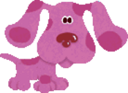 Magenta from Blue's Clues Blue's Collection