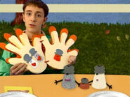 Blue's Clues Mr. Salt and Mrs. Pepper Thankful Book