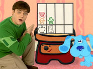Blue's Clues Sidetable Drawer with Snack Chart