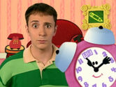 Blue's Clues Tickety Tock with Book Symbol