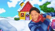 Winter scene of the reboot