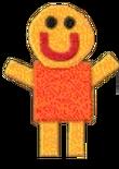 Freddy smiles